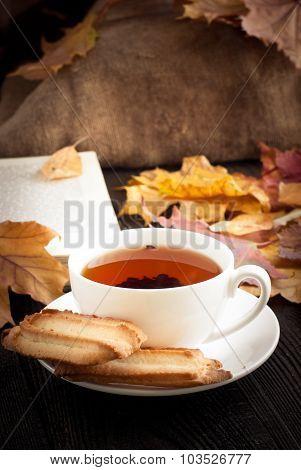 Autumn Hot Tea