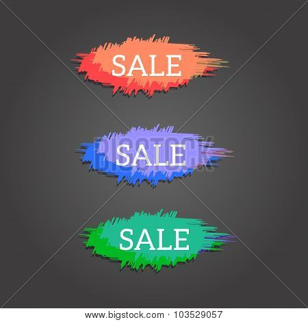 Color Sale Banners