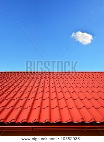 New Roof Of Sheet Metal