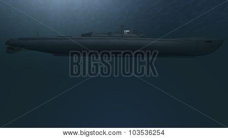 Submarine Model