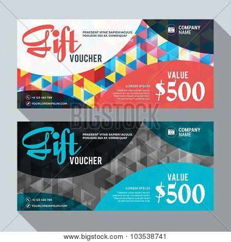Gift Voucher Design Template