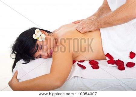 Friction Back Massage Type