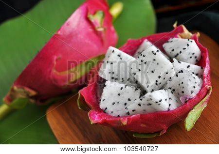 Portion Of Dragon Fruit