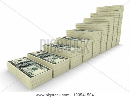 Money Stack. Business Concepts