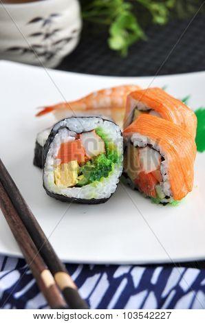 Varities Sushi Dish