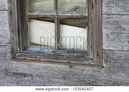 The Old Wood Window From Turkey