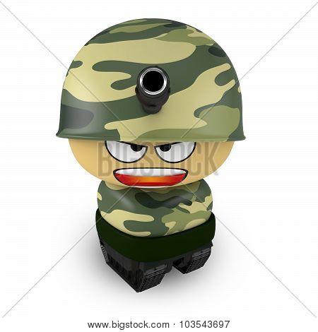 Mini Tank Soldier