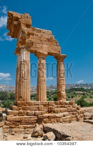 Valley Of Temples, Sicily.