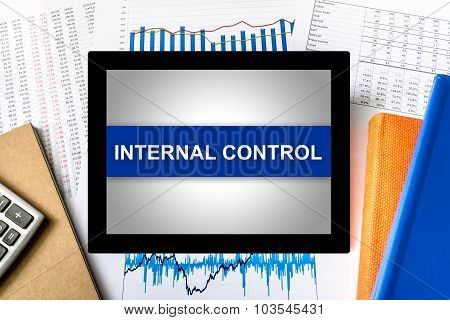 Internal Control Word On Tablet