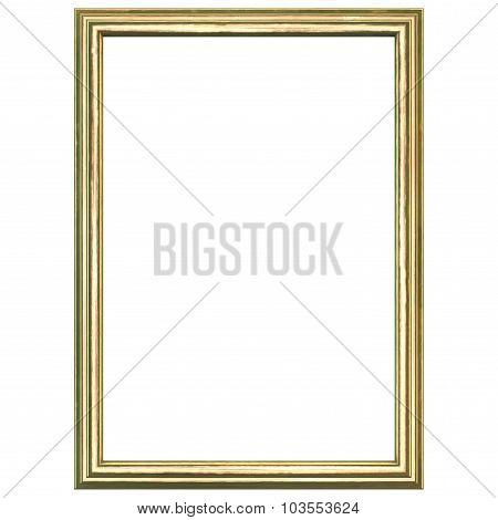 Golden Wood Frame