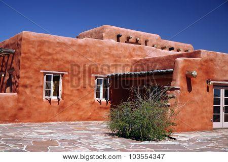 Classic Adobe House
