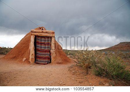 Hogan -navajo Native Indian House, Usa