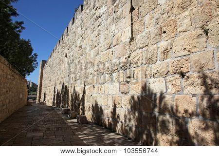 Jerusalem Old City, Site Near Zion Gate