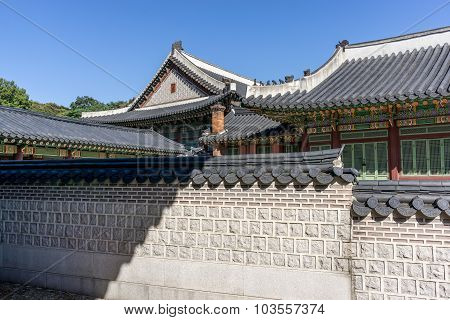 Changdeokgung Architecture