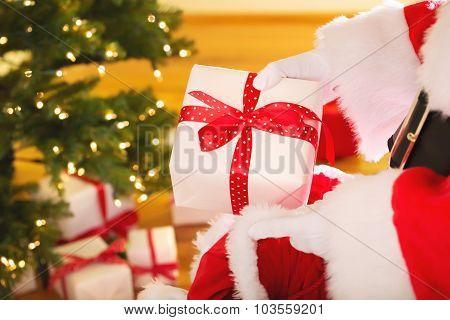 Santa With Christmas Presents