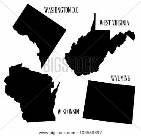 State Silhouette Collection