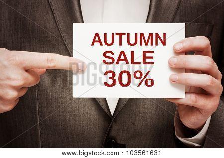 Autumn Sale 30 Percent Off