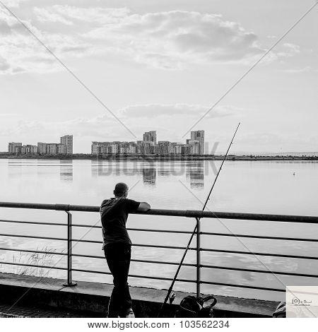 Fishing at Marina