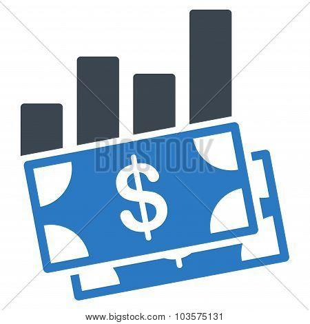 Sales Bar Chart Icon
