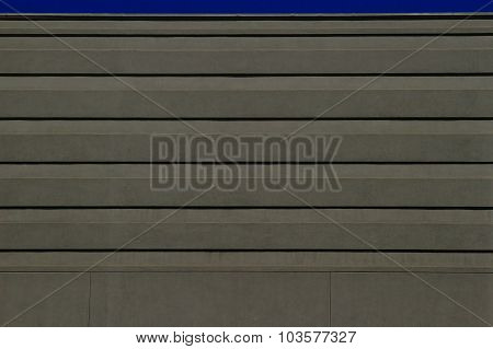 Exterior office building wall