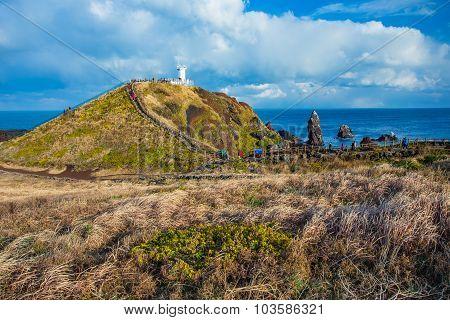 Seopjikoji In Jeju Island, South Korea