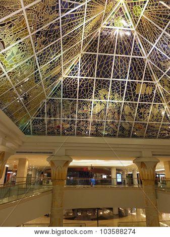 Wafi Mall in Dubai, UAE