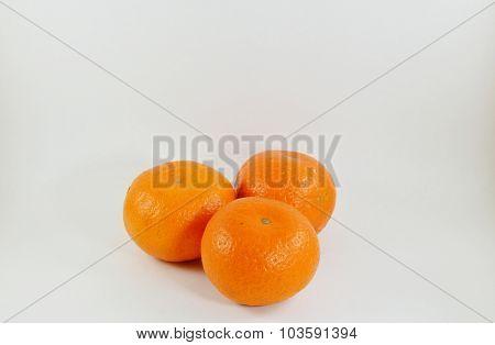 orange in white background