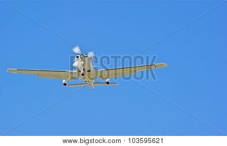 Flying Lessons in a Single Engine Plane