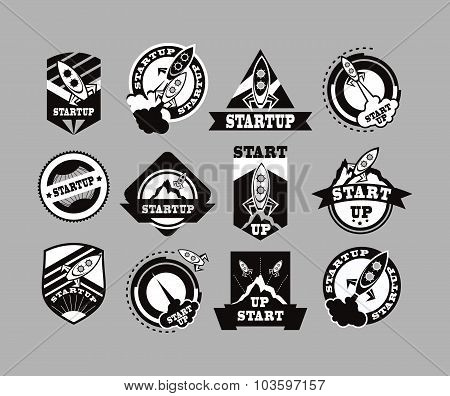Set Of Rockets Icon