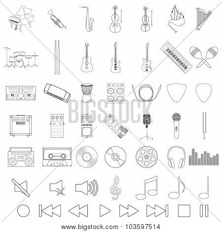 Musical Instrument Set