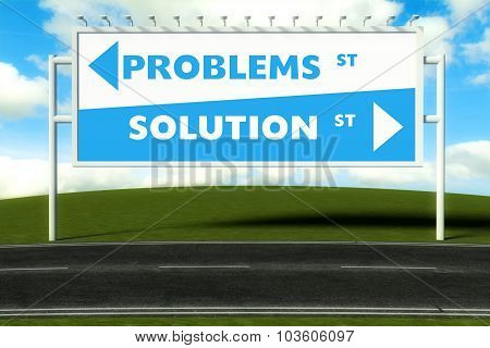 Conceptual Direction Signs Lead To Problems Or Solution