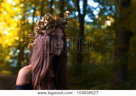 Witch In Dark Forest
