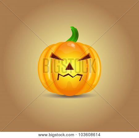 Vector Halloween Pumpkin
