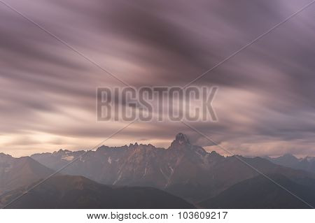 Landscape With Majestic Mountain