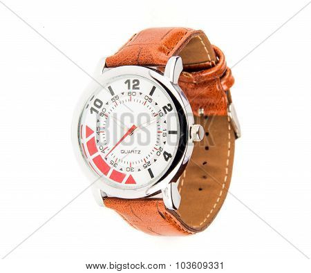Sleek Leather Watch