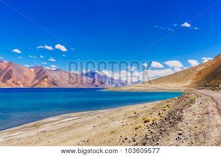 Pangong Tso Lake, Leh, Ladakh, India