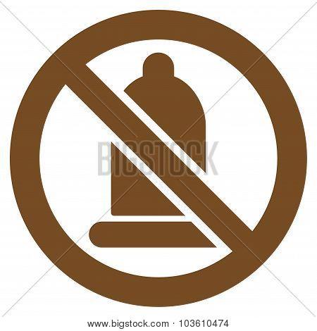 Forbidden Condom Icon