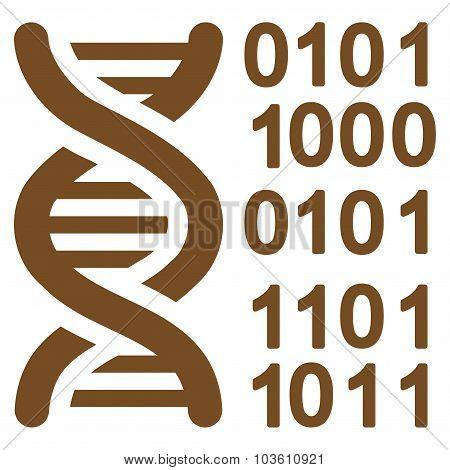 Genome Code Icon