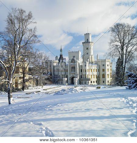 Hluboka Nad Vltavou Chateau, Czech Republic