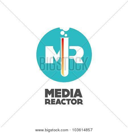 Media Reactor Logo Concept