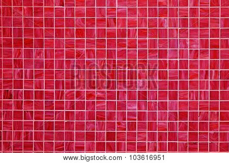 Red square tiled background