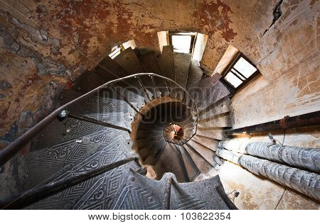 Spiral Staircase In Odessa