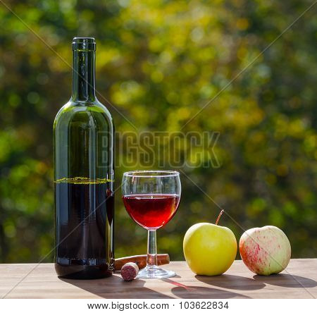wine party outdoors.