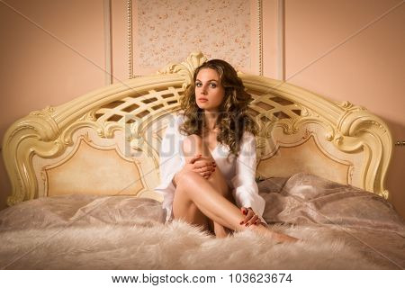 Sexual Woman In The Bedrom