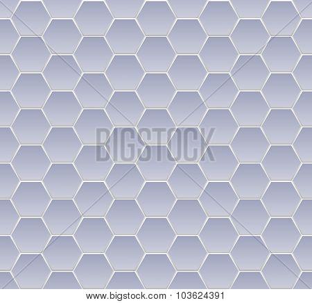 hexagone seamless blue