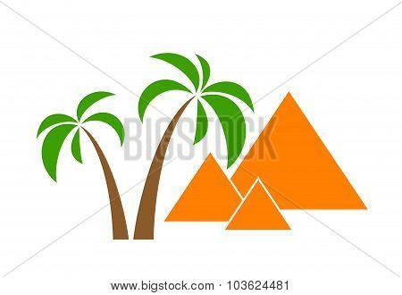 palms pyramids