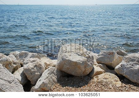 Coast At Lovrecica