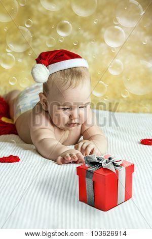 Gift box happy baby