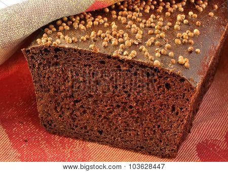 Borodinsky Rye Bread.