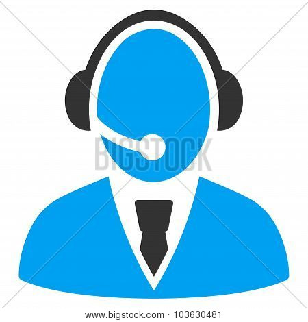 Call Center Worker Icon